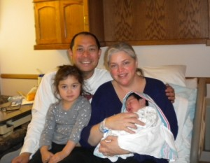 Wang Family Welcomes Baby Reagan