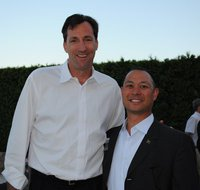 Chris Dudley and Andre Wang